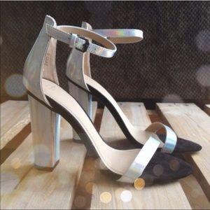 Zara Holographic Heels